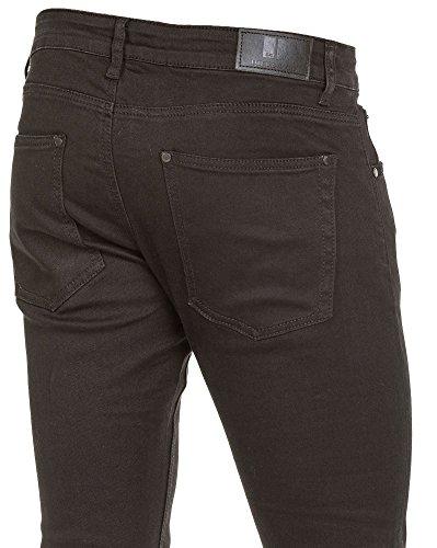 BLZ jeans - Jean klassischer schwarzer Mann slimfit Schwarz