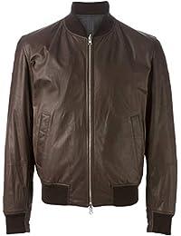 Brunello Cucinelli Giacca Outerwear Uomo MPCAP1441CT039 Pelle Marrone eb48ce18778