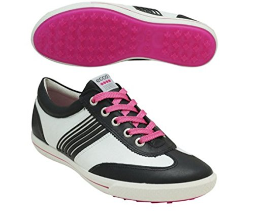 Ecco - Chaussures Dames - ECCO STREET blanc/rose Noir/Blanc/Candy