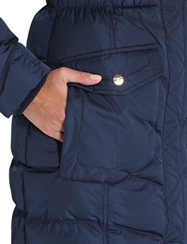 Berydale Damen Wintermantel mit abnehmbarer Kapuze Blau (Navy)