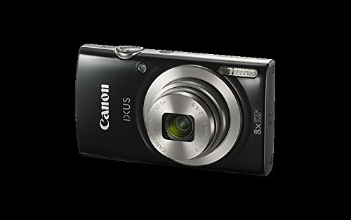 Canon IXUS 185 Digitalkamera (20 Megapixel, 8x optischer Zoom) schwarz -