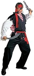 WIDMANN Widman - Disfraz de pirata para hombre, talla XL
