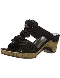 Marco Tozzi Damen 27213 Offene Sandalen mit Keilabsatz
