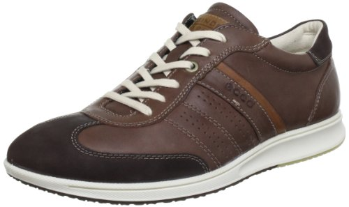 ECCO Jogga Casual Sneaker, Chaussures basses homme Marron (Coffee/Bison/Whisky/Whisky 57925)