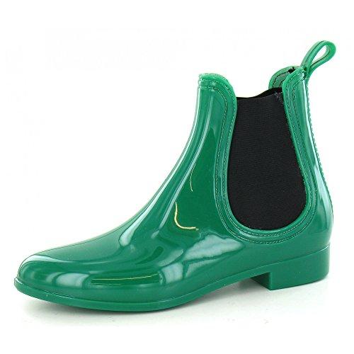 Spot On - Bottines de pluie - Femme Vert foncé