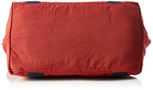 Kipling Art S Sporttasche, 44 cm, Sunset Yellow C Rot (21O Red Rust Bl)