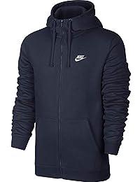 f70d2f7379bdb7 Nike Herren Hoodie M NSW CLUB FZ FT