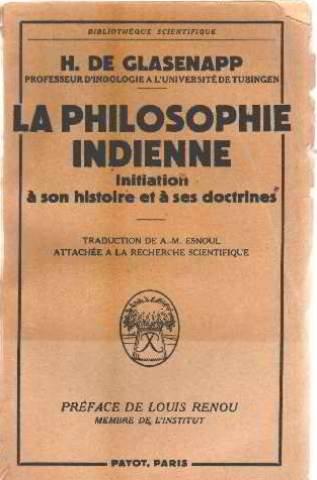 La philosophie indienne / initiation à son histoire et a ses doctrines