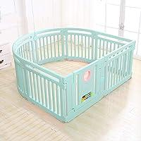 LFY Nouveau Parc à bébé pour Enfants, Centre d'activité, Nouveau Style, Cour de Jeu pour la Maison, intérieur et extérieur avec 8 Panneaux