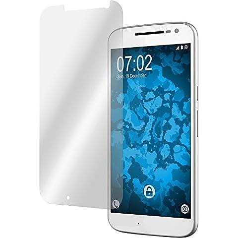 6 x Motorola Moto G4 Pellicola Protettiva chiaro - PhoneNatic Pellicole Protettive