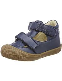 Naturino 4684, Chaussures Bébé Marche Bébé Fille - Multicolore - Bleu, 24 EU