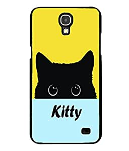 printtech Kitty Eyes Back Case Cover for Samsung Galaxy Mega 2 , Samsung Galaxy Mega 2 G750F , Samsung Galaxy Mega 2 G7508 Samsung Galaxy Mega 2 Duos G7508Q for China with dual-SIM card slots