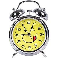Soytich–Despertador, Electrónico Despertador de cuarzo retro de amarillo de lengua