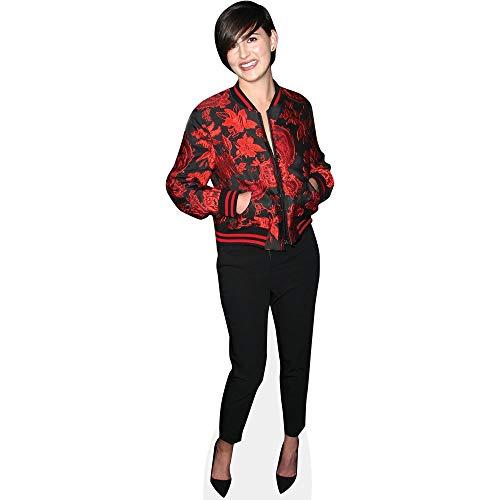 Celebrity Cutouts Jacqueline Toboni (Red Jacket) Pappaufsteller Mini -