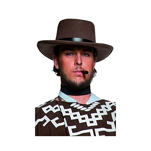 Generique - Hut Sheriff braun - Clint Eastwood Cowboy Kostüm