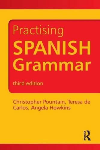 Spanish Grammar Book Pdf