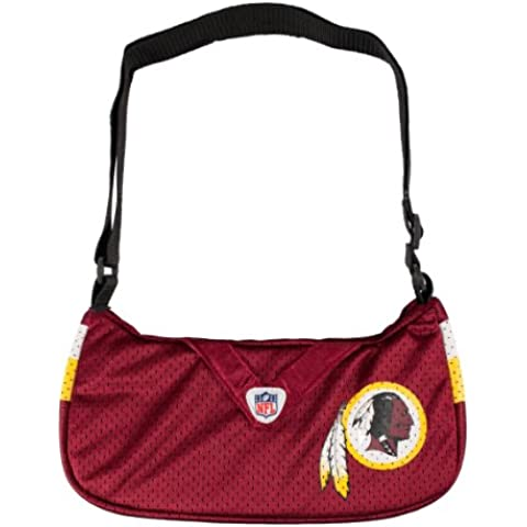 NFL Washington Redskins Jersey Team Purse, 12 x 3 x 7-Inch, Red by Littlearth
