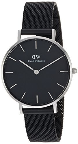 [Daniel Wellington] Daniel Wellington Reloj Ladies Classic Pettitte Ashfield plata 32 mm dw00100202 [Regular importados]