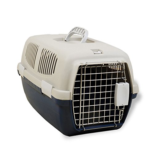 GWM Pet Air Box, Hund Luft Käfig, Versand Box, Katze, Käfig, Teddy, Bichon Bär, Hund Käfig, Air Box, Pet Supplies (Farbe : Weiß, größe : L)