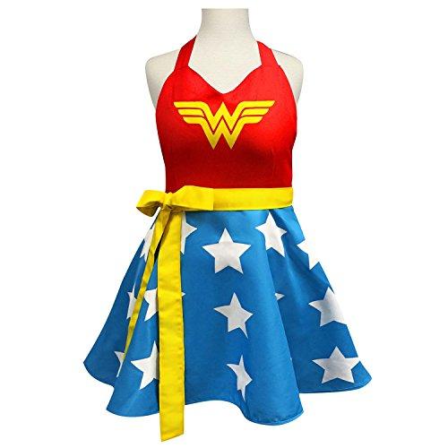 DC Comics Wonder Woman Fashion Delantal