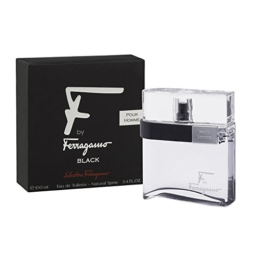 Salvatore Ferragamo F Black Pour Homme Eau de Toilette Spray 100 ml (F By Ferragamo Für Männer)