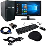 Tegh Tc 1564 Desktop Computer PC CPU Intel Core 2 Duo 3 GHZ /4GB RAM /500 GB Hardisk/ Consistent 15.6 Inch LED/ Consistent G31 Motherboard