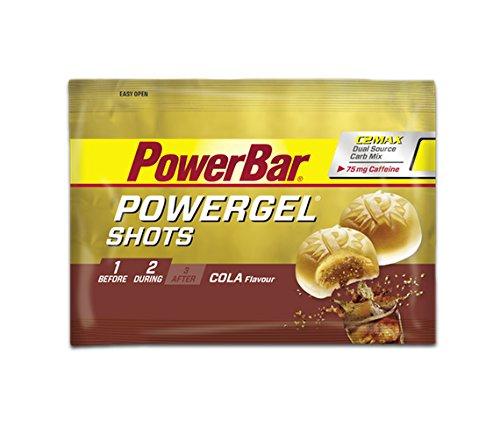 Powerbar 16 Sachets de Gomme Powergel Shots Goût Cola