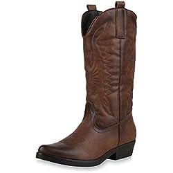 SCARPE VITA Mujer botín Botines de Vaquero 173419 marrón 38