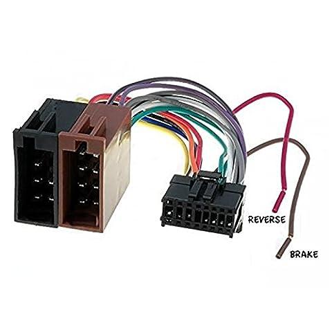 Cable adaptateur faisceau ISO autoradio PIONEER AVH 16 pin connecteur