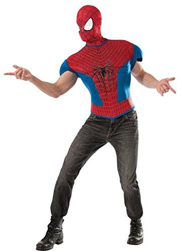 Spiderman 2 Top Adult Std (Spiderman 2 Erwachsene Kostüme Handschuhe)