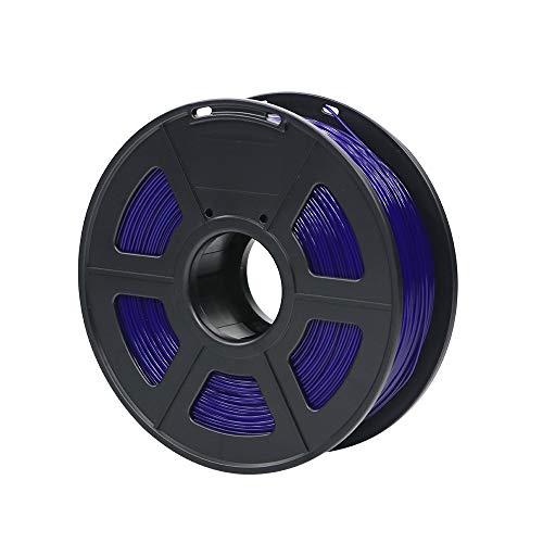 No logo x-xiazhi, materiali di stampa di plastica dei materiali di consumo di plastica del filamento della stampante 3d di pla 1.75mm 1kg 28 colori di generi for voi scelgono (colore : blue)