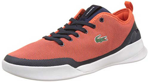 Lacoste Dual 317 1, Baskets Basses Homme Bleu (Nvy/Red)