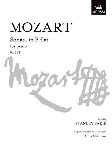 Sonata in B Flat K. 333 (Signature Series (ABRSM)) -