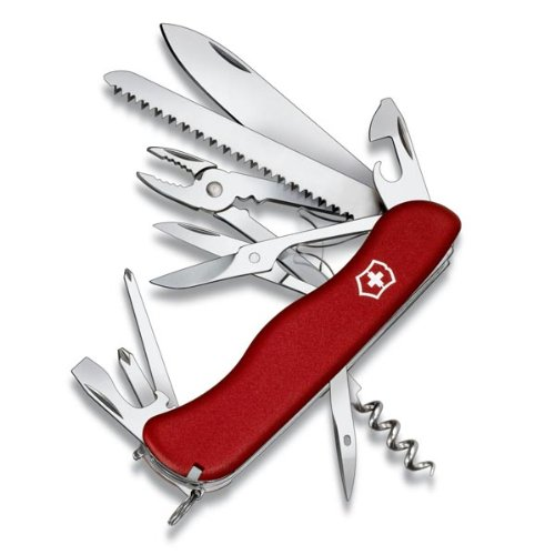 Victorinox Hercules Red 54751 - Couteau suisse 18 fonctions - Longueur 111 mm