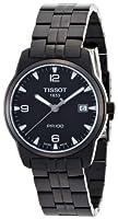 Reloj de caballero Tissot PR 100 Sport T0494103305700 de cuarzo, correa de acero inoxidable color negro de Tissot