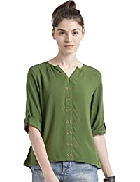 Vrati Fashion Women's Plain Regular Fit Top(D NO-85-1)