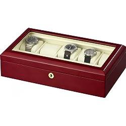 Auer Accessories Leda VS80410CM Uhrenbox Kirschholz