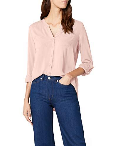 ONLY Damen onlFIRST LS Pocket Shirt NOOS WVN Bluse, Rosa (Peachy Keen), 38