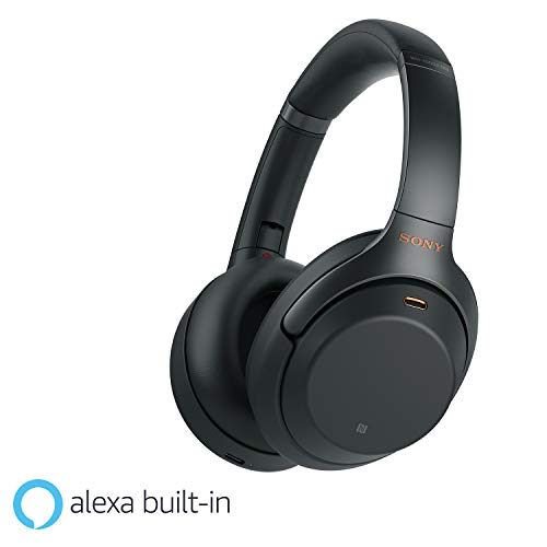 Sony WH-1000XM3 Wireless Industry Leading Noise Cancellation Headphones with Alexa (Black)