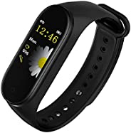 M4 band Fitness Activity Tracker Wearfit, Heart Rate Monitor, Smartwatch Bracelet with iOS and Android, Blood
