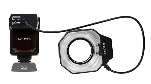 Dörr DAF-14 Ringflash für Nikon mit iTTL Blitzautomatik