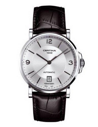 Certina Herren-Armbanduhr XL Analog Automatik Leder C017.407.16.037.00
