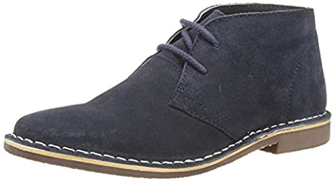 Red Tape Gobi Suede, Men's Desert Boots, Blue (Navy), 9
