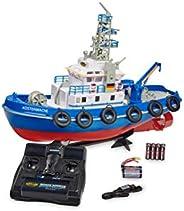 Carson Kustvakt TC-08 2,4G 100% RTR, fjärrstyrd, RC båt, med funktioner, inklusive fjärrkontroll, säkerhetslås