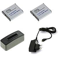 Kamera-Netzteil für Sony Cybershot DSC-HX5 DSC-HX5V DSC-HX7V DSC-HX7