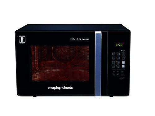 Morphy Richards 30mcgr Deluxe 30-litre Microwave Oven (black)