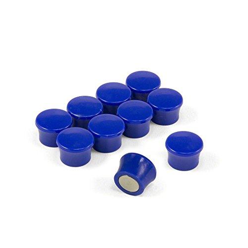Magnet Expert® Petit Haute Puissance Note' Planche aimants, Bleu, 1 Pack de 10