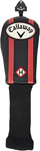 Callaway Vintage Universal Hybrid Haube 15 EU Black/ Red - Hybrid Headcover -