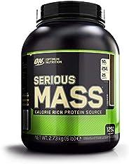 Optimum Nutrition Serious Mass Proteine Whey in Polvere per Aumentare la Massa Muscolare con Creatina, Glutammina e Vitamine
