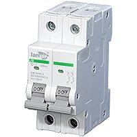 Generic 2poli Interruttore magnetotermico non polarizzato DC interruttore con certificato TUV da 1a a